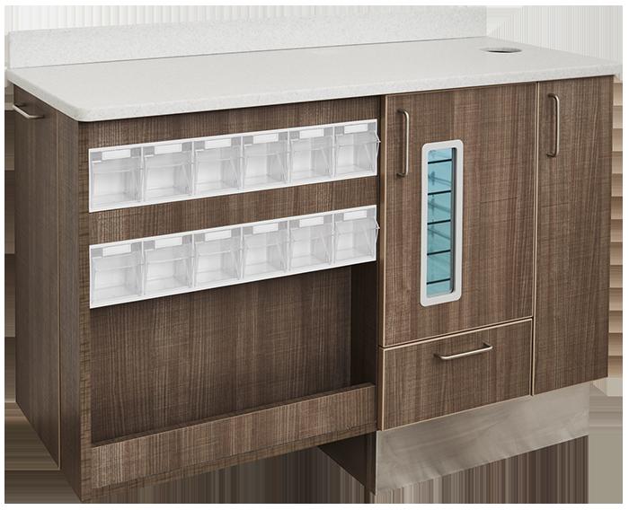 Flex Series Assistant Side Cabinet