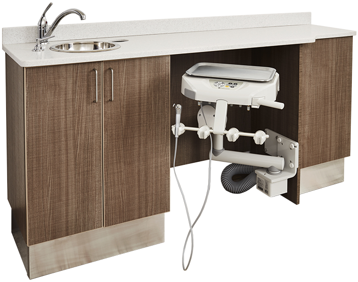 Flex Series Doctor Side Cabinet